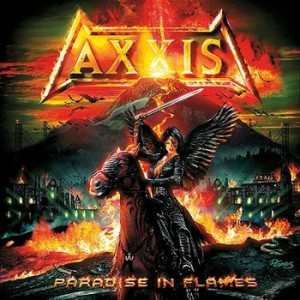 Axxis - Paradise in Flames cover art