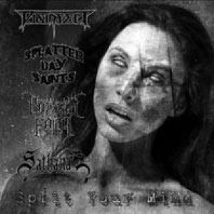 Sathanas / Disinfect / Rotting Faith / Splatter Day Saints - Split Your Mind cover art