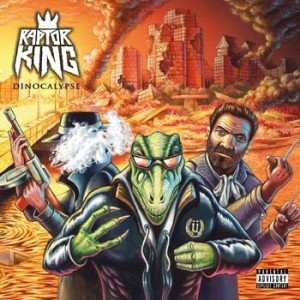 Raptor King - Dinocalypse cover art
