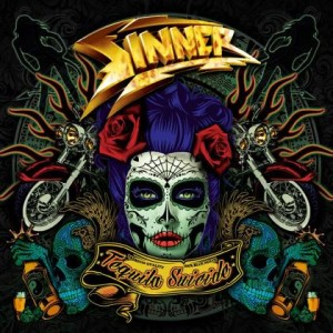 Sinner - Tequila Suicide cover art
