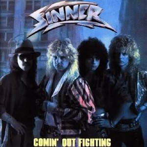 Sinner - Comin' Out Fighting cover art