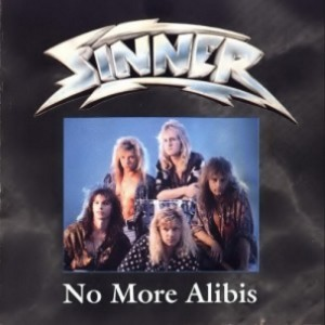 Sinner - No More Alibis cover art