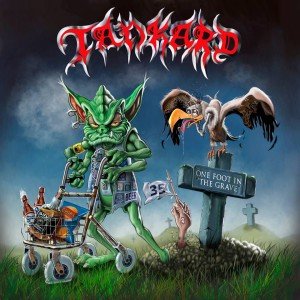 Tankard - One Foot in the Grave cover art