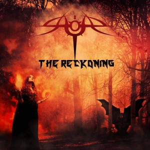 Saqar - The Reckoning cover art