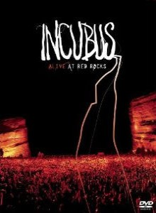 Incubus - Alive at Red Rocks cover art