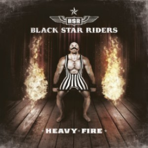 Black Star Riders - Heavy Fire cover art