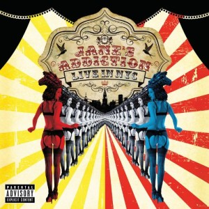 Jane's Addiction - Live in NYC cover art