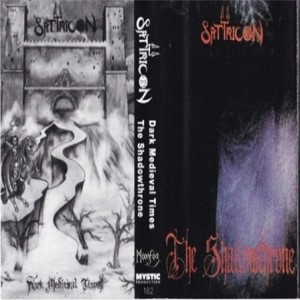 Satyricon - The Shadowthrone / Dark Medieval Times cover art