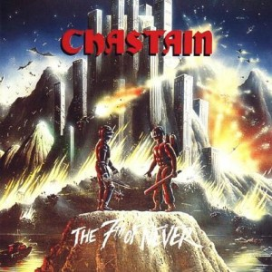 Chastain - The 7th of Never cover art