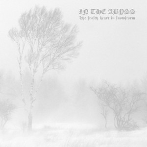 In the Abyss - The Frosty Heart in Snowstorm cover art