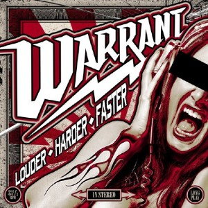 Warrant - Louder Harder Faster cover art