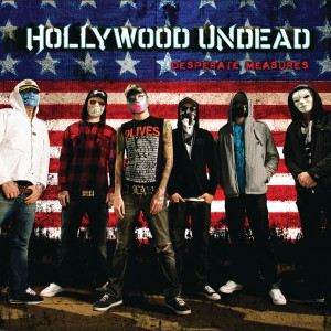 Hollywood Undead - Desperate Measures cover art