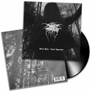 Darkthrone - Burial Bliss / Visual Aggression cover art