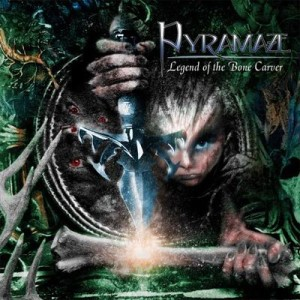 Pyramaze - Legend of the Bone Carver cover art