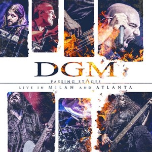 DGM - Passing Stages: Live in Milan and Atlanta cover art