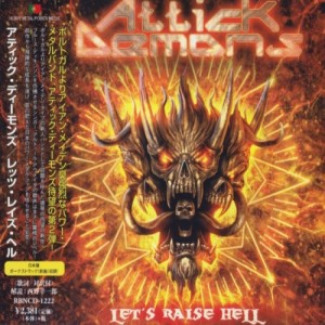 Attick Demons - Let's Raise Hell cover art