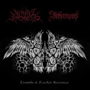 Winter Blackness / Infamous - Symbols of Scarlet Revenge cover art