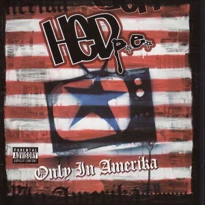 HED p.e. - Only in Amerika cover art