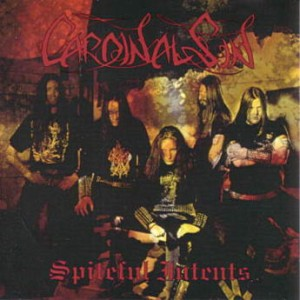 Cardinal Sin - Spiteful Intents cover art
