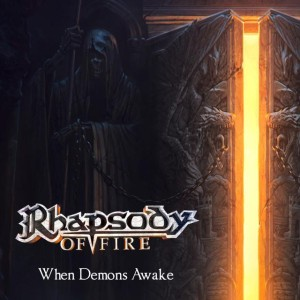 Rhapsody of Fire - When Demons Awake cover art