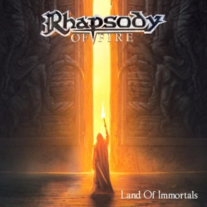 Rhapsody of Fire - Land of Immortals cover art