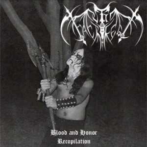 Culto Sacrilego - Blood and Honor cover art