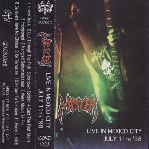 Master - Live in Mexico City cover art