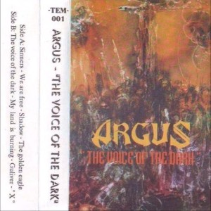 Argus - The Voice Of The Dark cover art