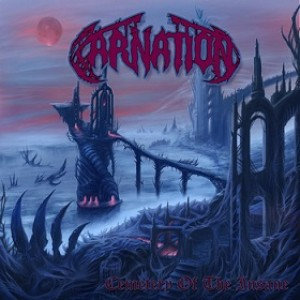 Carnation - Cemetery of the Insane cover art