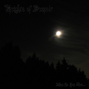Heights of Despair - When the Sun Dies... cover art