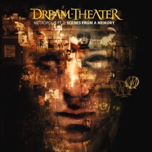 Dream Theater - Metropolis Pt. 2: Scenes From a Memory cover art
