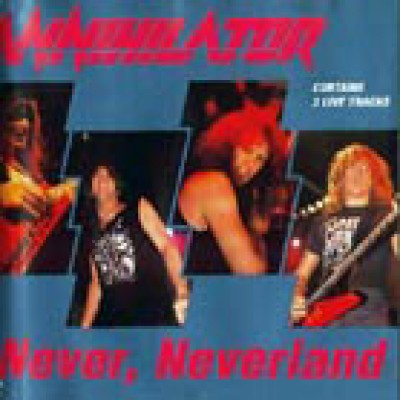 Annihilator - Never, Neverland cover art