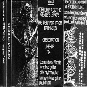 Obsecration - Promo Tape'94 cover art