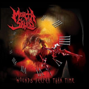 Morta Skuld - Wounds Deeper than Time cover art