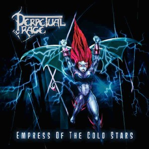 Perpetual Rage - Empress of the Cold Stars cover art