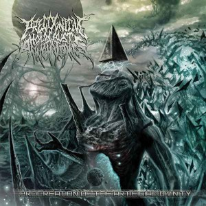 PRECOGNITIVE HOLOCAUST ANNOTATIONS - Procreation of the Artificial Divinity cover art