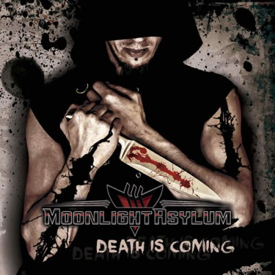 Moonlight Asylum - Death Is Coming cover art