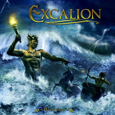 Excalion - Waterlines cover art