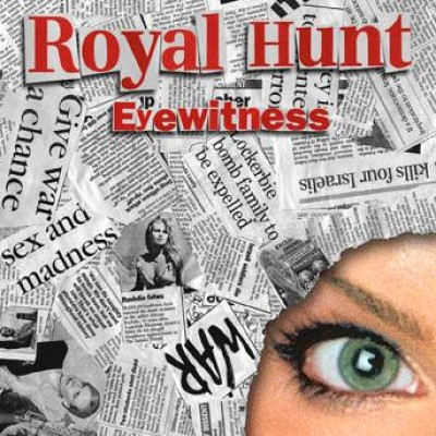 Royal Hunt - Eyewitness cover art