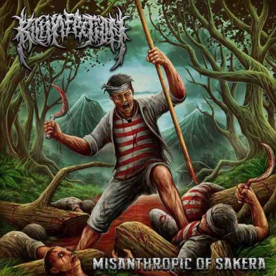 Kill Infection - Misanthropic of Sakera cover art