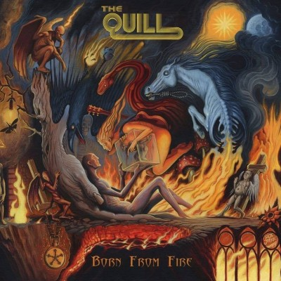 The Quill - Born from Fire cover art