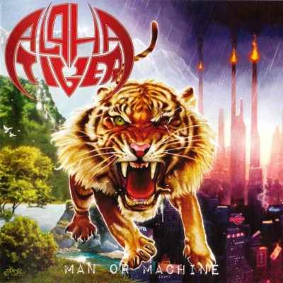 Alpha Tiger - Man or Machine cover art