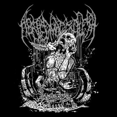 Abated Mass of Flesh - Descending upon the Deceased cover art