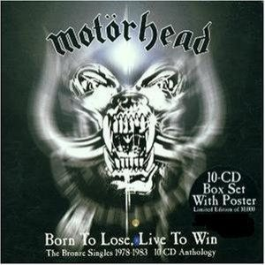 Motorhead - Born to Lose, Live to Win (The Bronze Singles 1978-1983) cover art