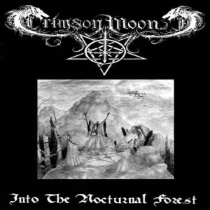 Crimson Moon - Into the Nocturnal Forest cover art