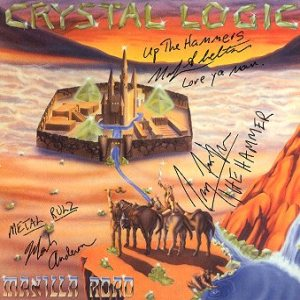 Manilla Road - Crystal Logic cover art