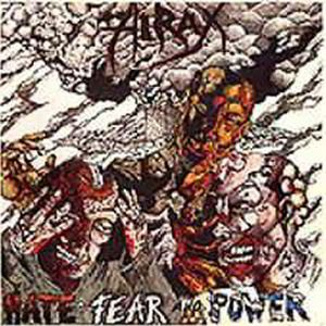 Hirax - Hate, Fear and Power cover art