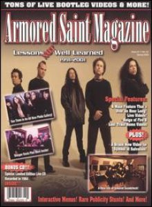 Armored Saint - Lessons Not Well Learned 1991-2001 cover art