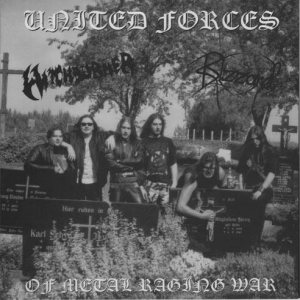 Witchburner - United Forces of Metal Raging War cover art