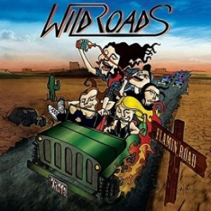 Wildroads - Riding on a Flaming Road cover art